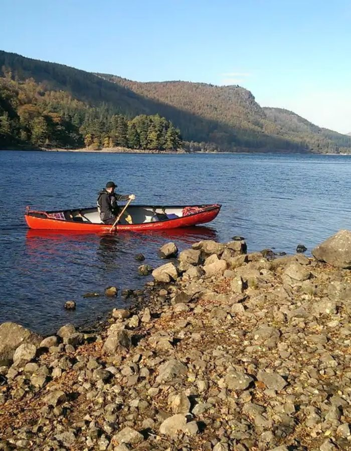 Explore Thirlmere and Learn to Canoe at the Same Time Lake District