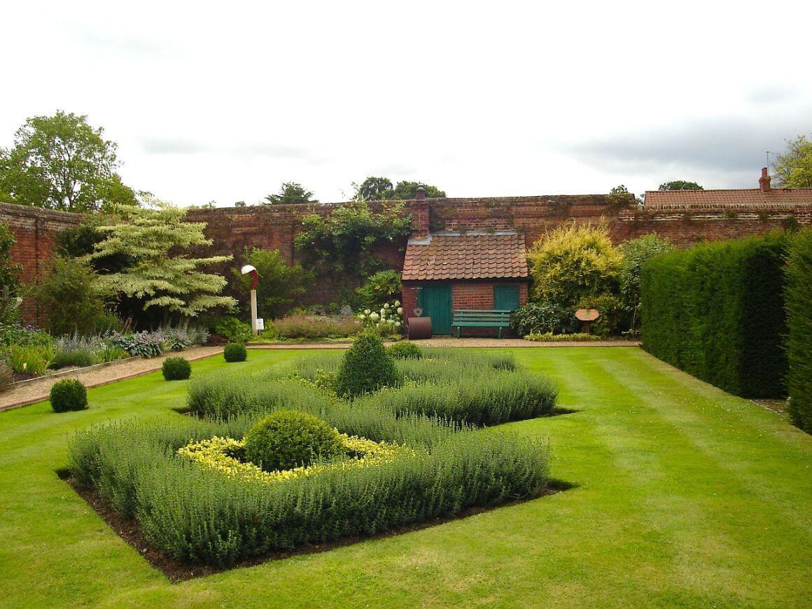 Garden Norfolk England