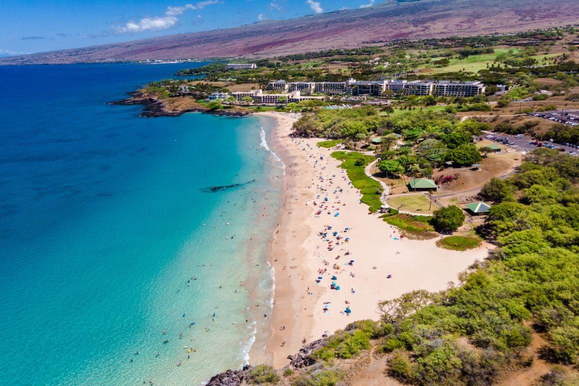 Hapuna Beach The Big Island Hawaii
