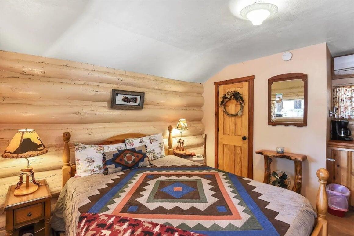 Historical log cabin