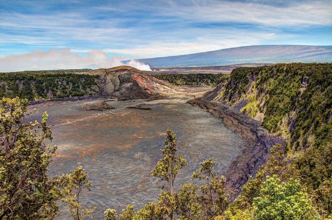 Kilauea volcano The Big Island Hawaii