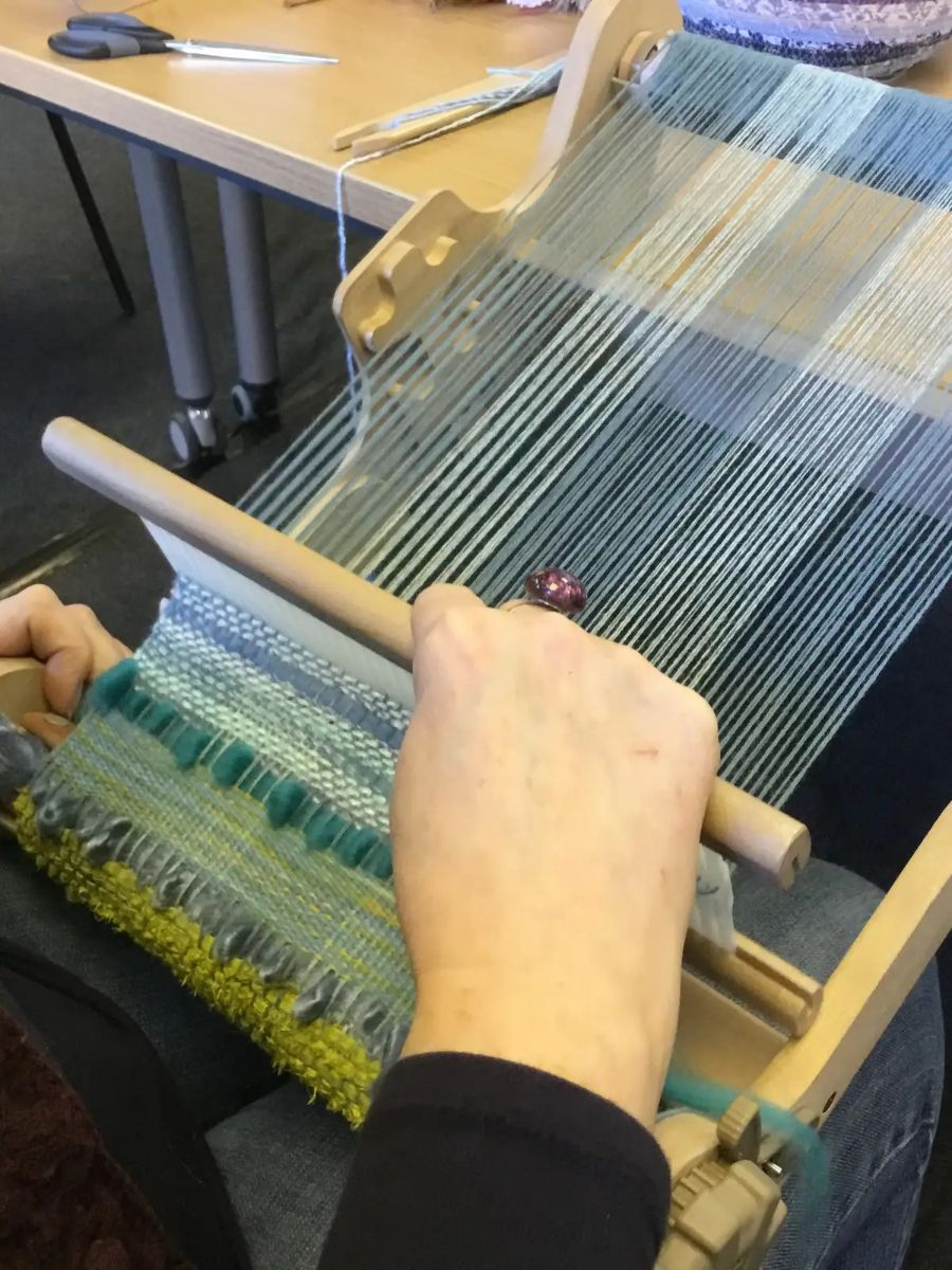 Learn how to weave textiles Norfolk