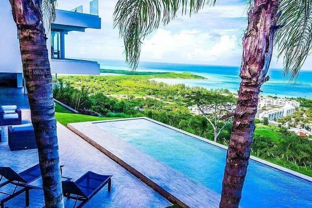 Massive Hillside Villa with Ocean Views