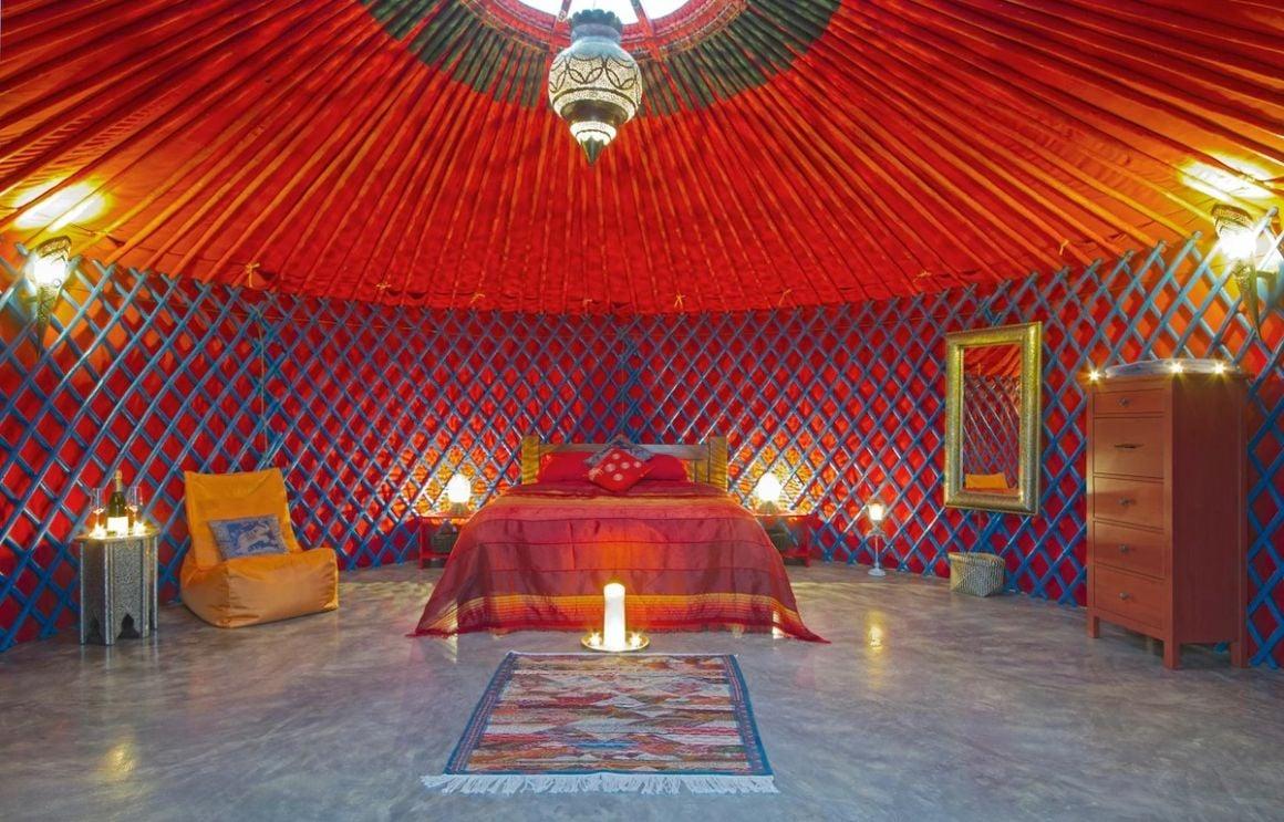Mongolian Yurt with Jacuzzi