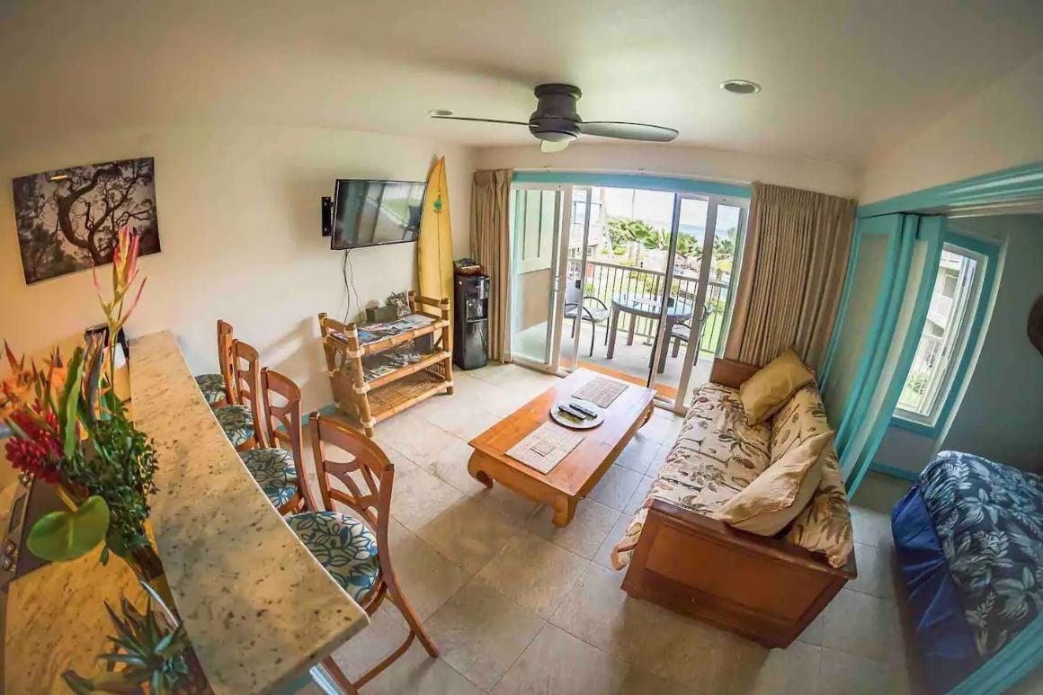 Oceanfront Apartment Hidden Gem Kauai