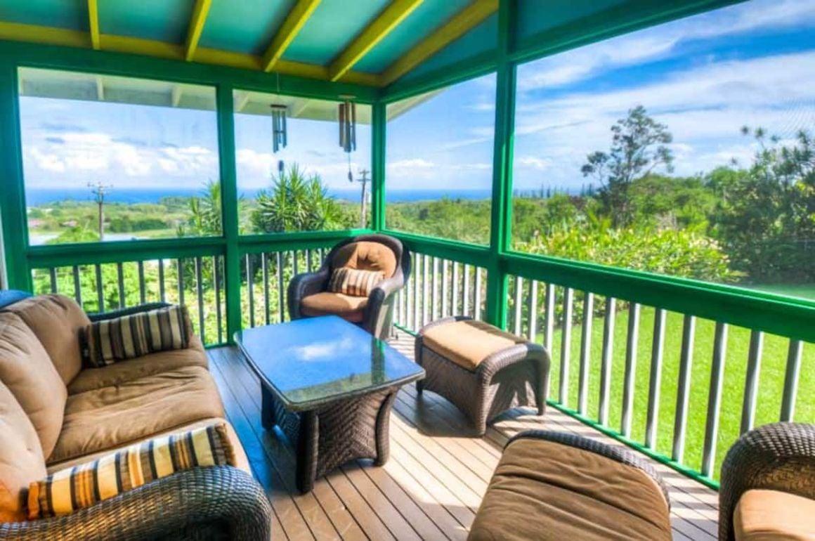 Oceanview Hilltop House Big Island
