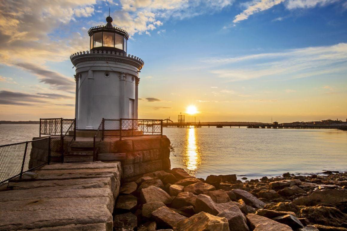 Old Port Lighthouse Portland Maine