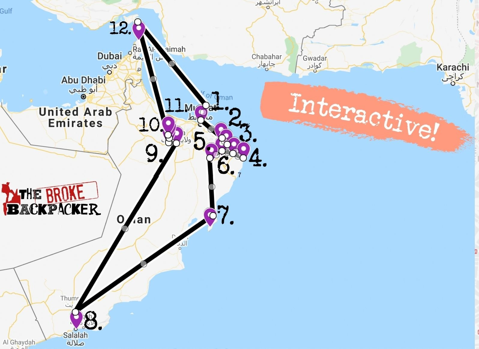 oman itinerary for 3 weeks