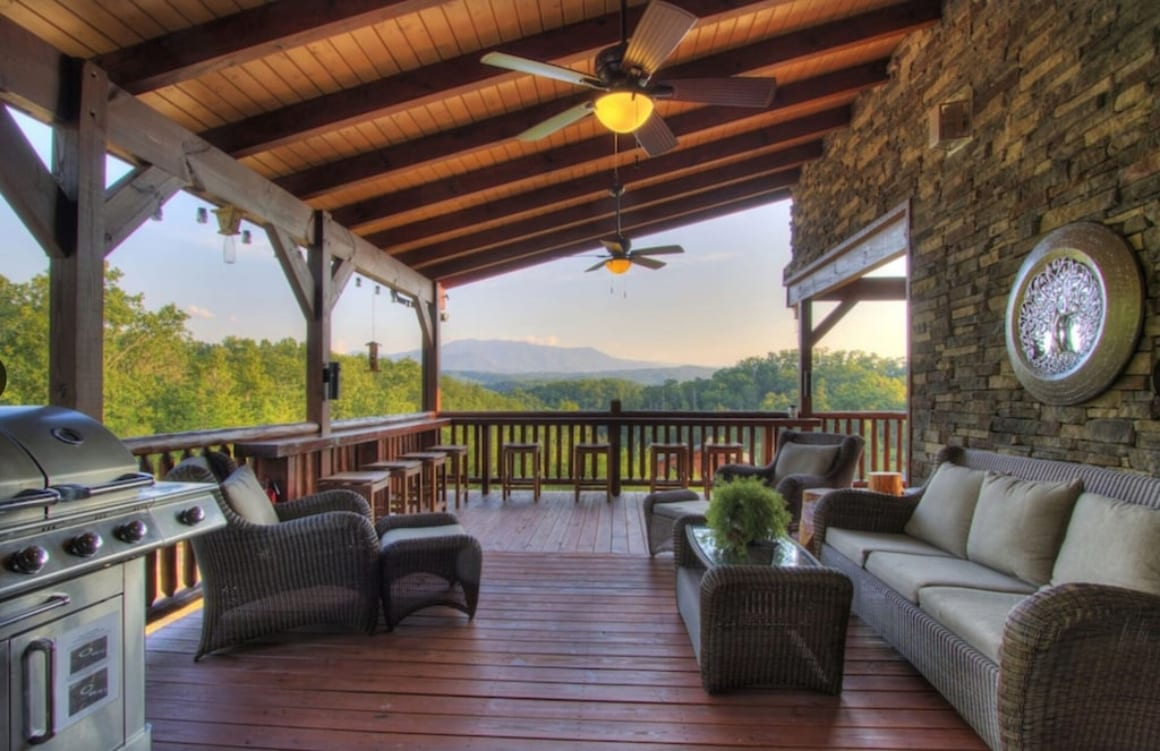 Pigeon Forge Cabin with Spectacular Views