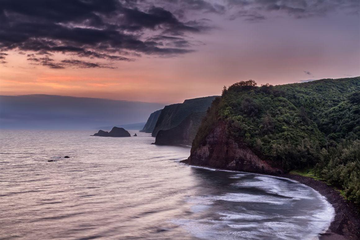 Polulu Valley Overlook The Big Island Hawaii