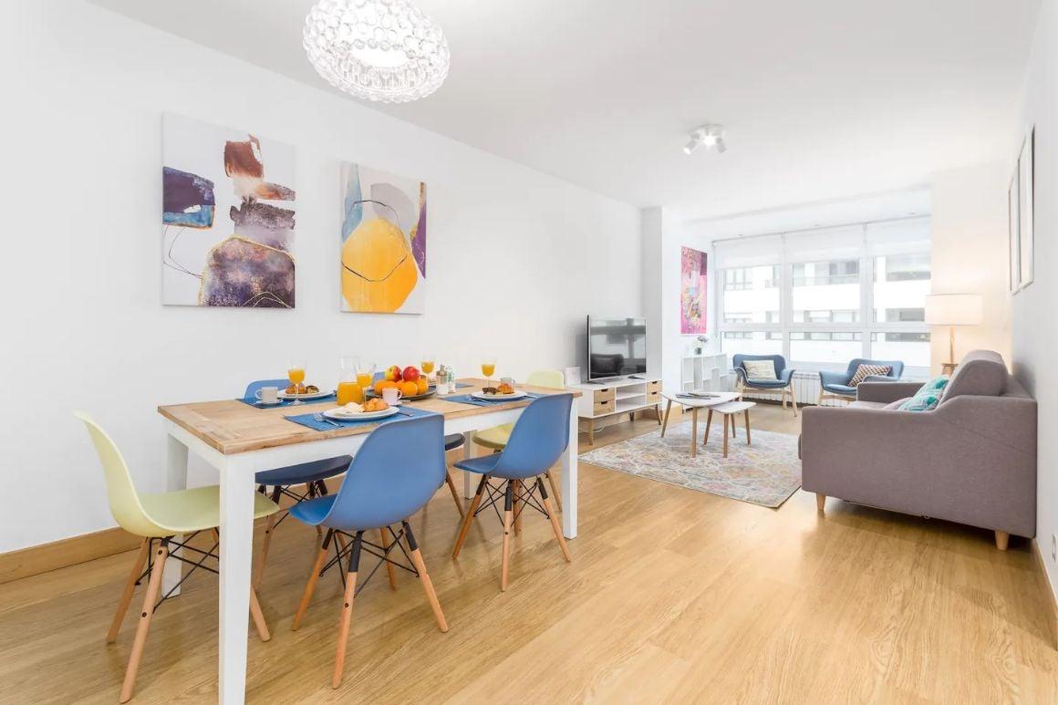 San Sebastian Newly refurbished flat in San Sebastian Antiguo