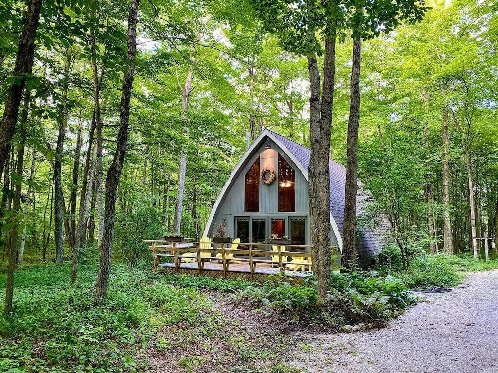 Secluded A-frame Cabin