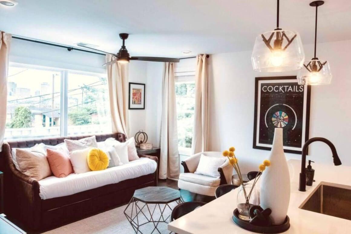 Stylish 1 Bed Loft with City Views