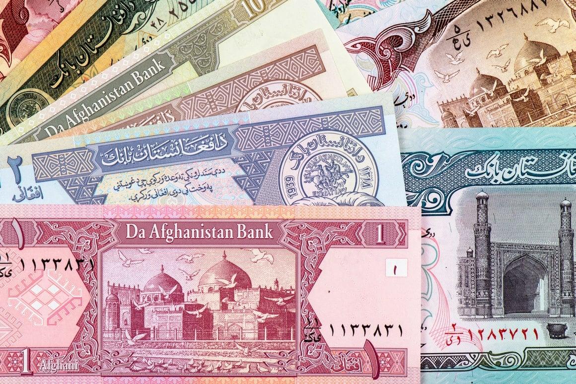 Afghani money.