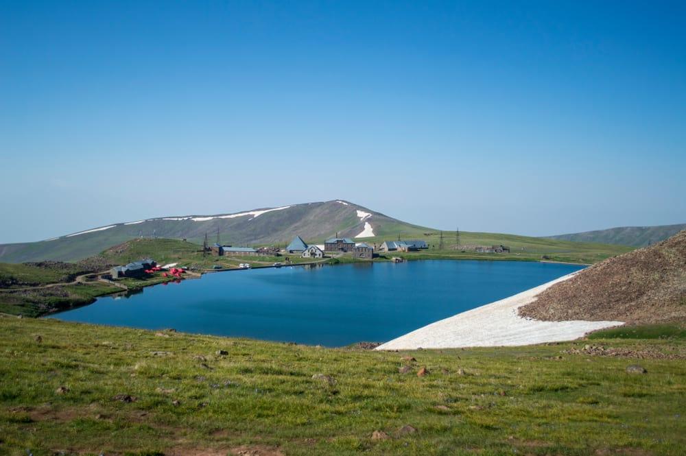 lake kari with campers