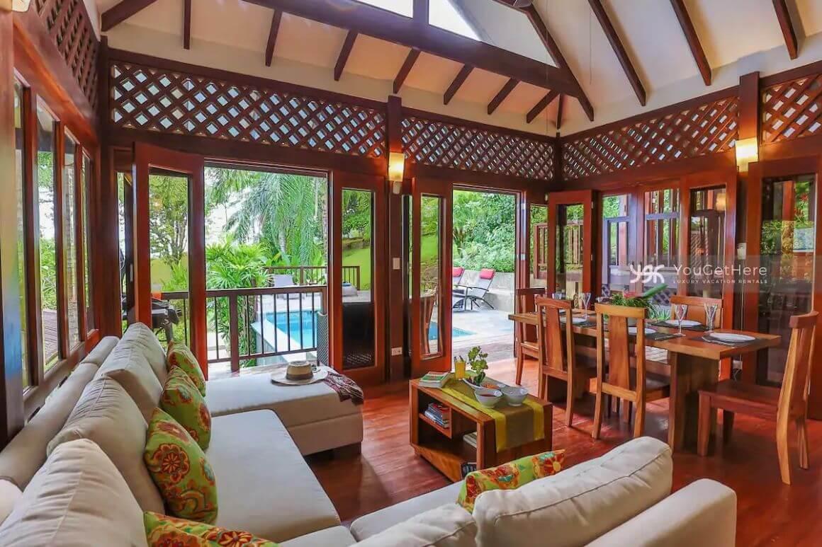 2 Bed Tropical Villa with Ocean Views Costa Rica