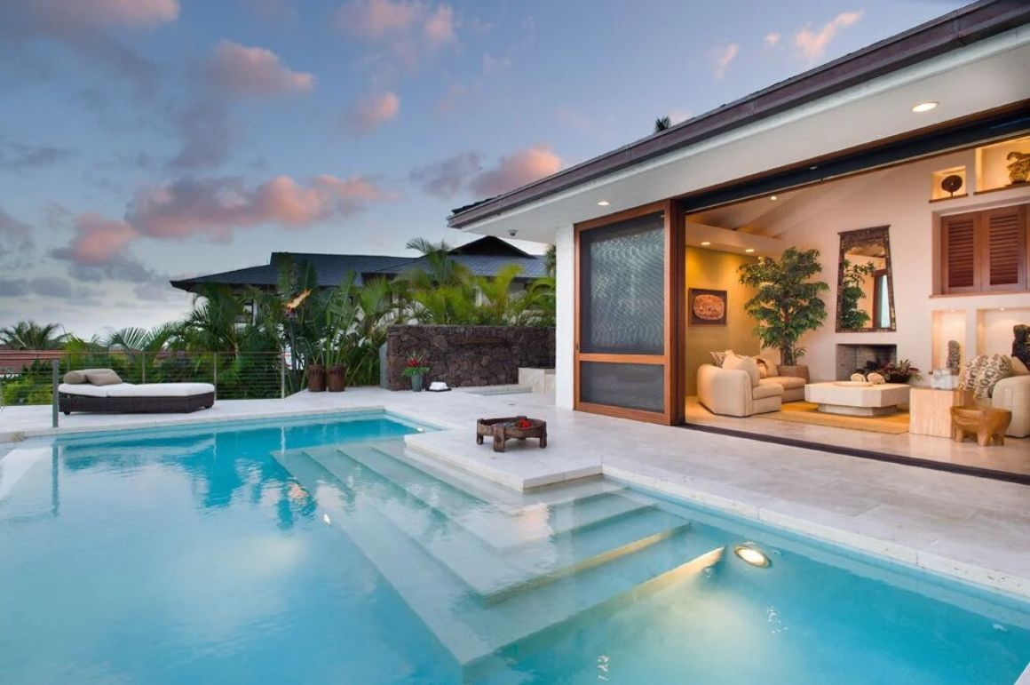 3 Bed Ocean View House with Pool and Jacuzzi
