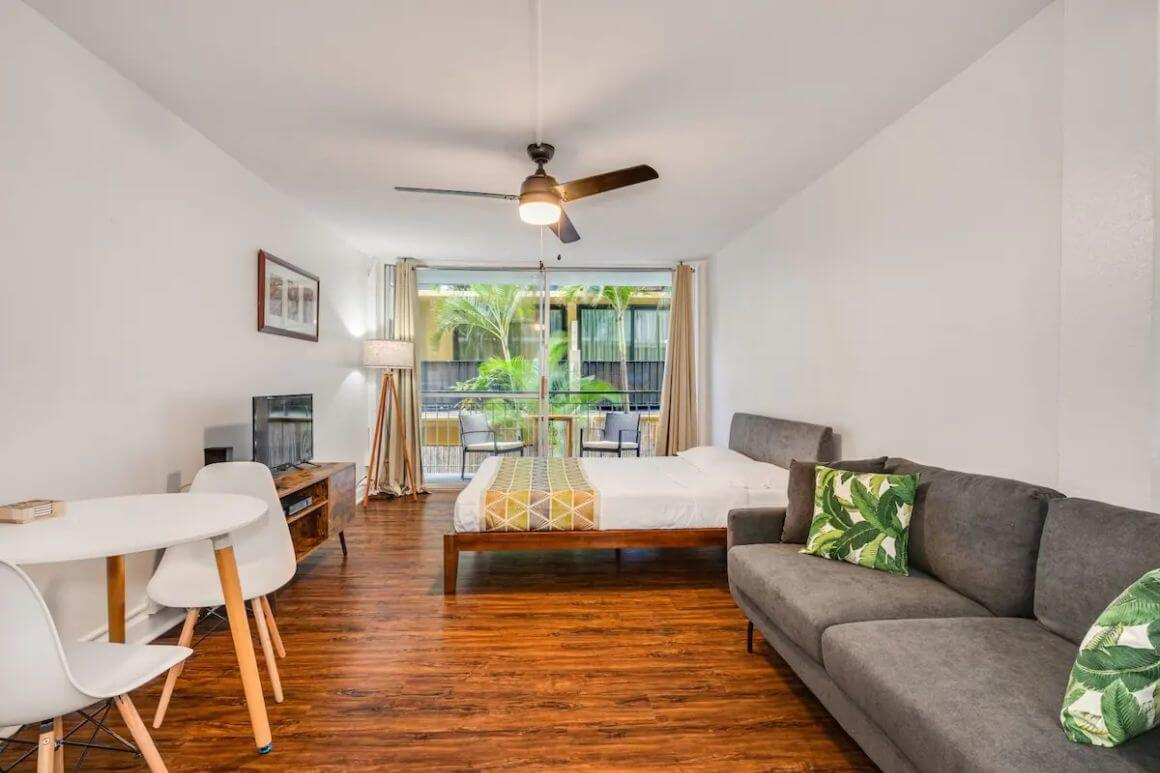 Affordable and Central Modern Studio Oahu