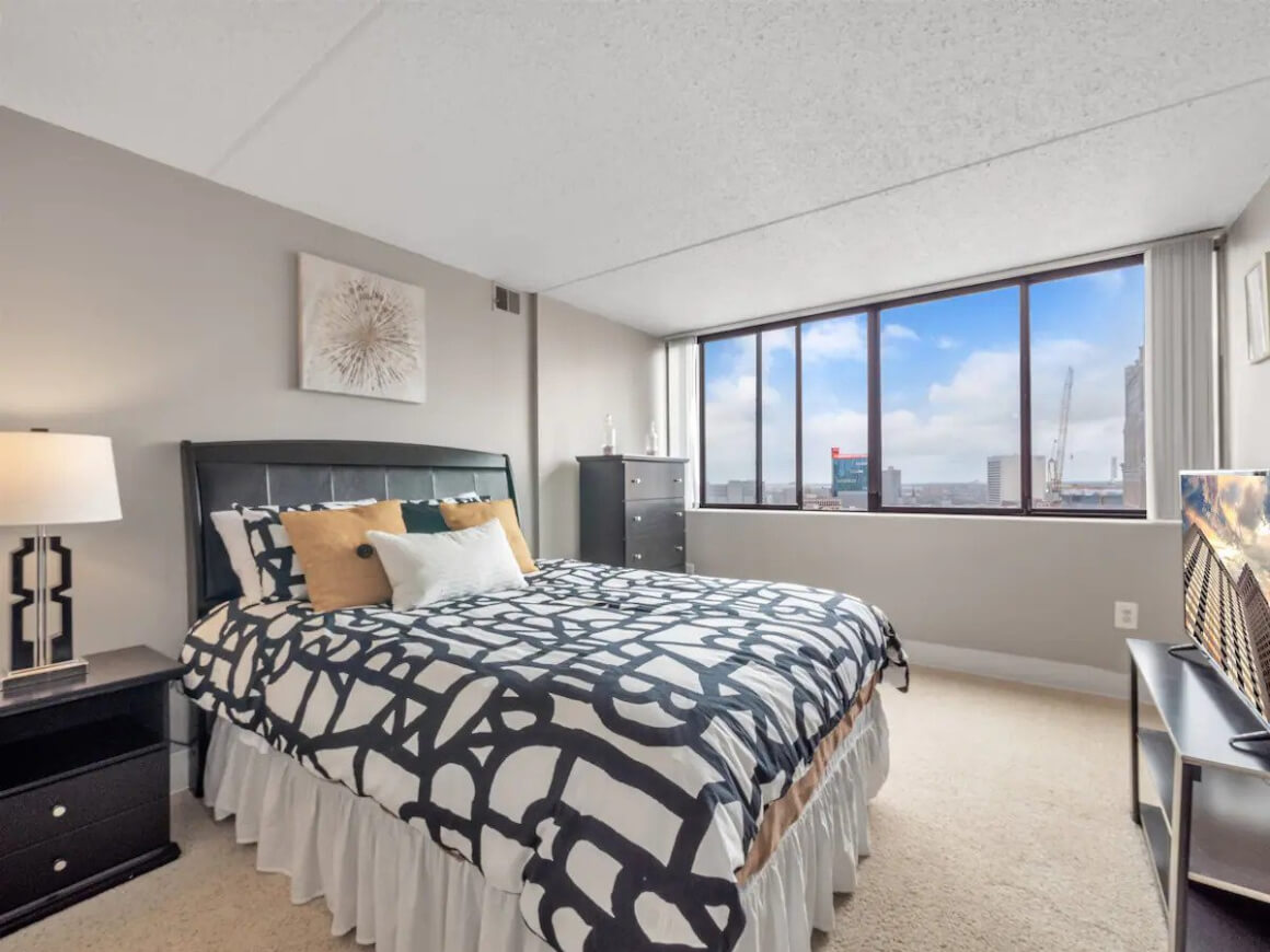 Apartment with an amazing view of Downtown Detroit