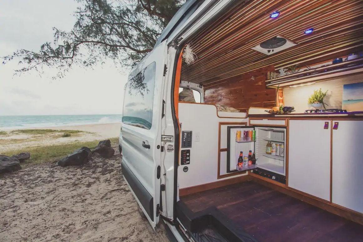 Boho Mobile Campervan for 2