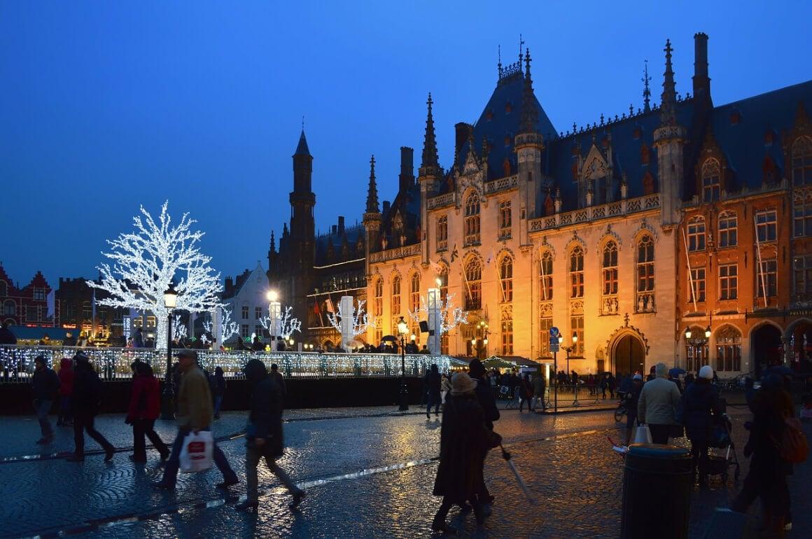 Bruges, Belgium Christmas Market