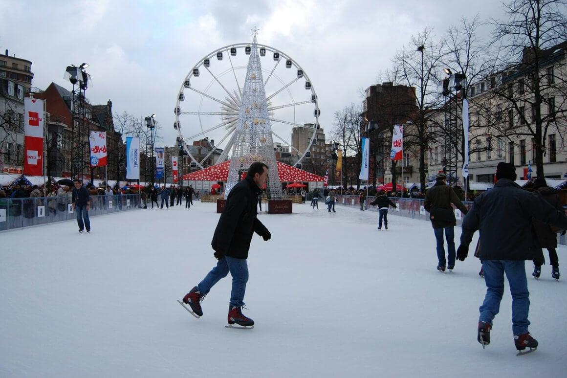 Brussels, Belgium Christmas Market