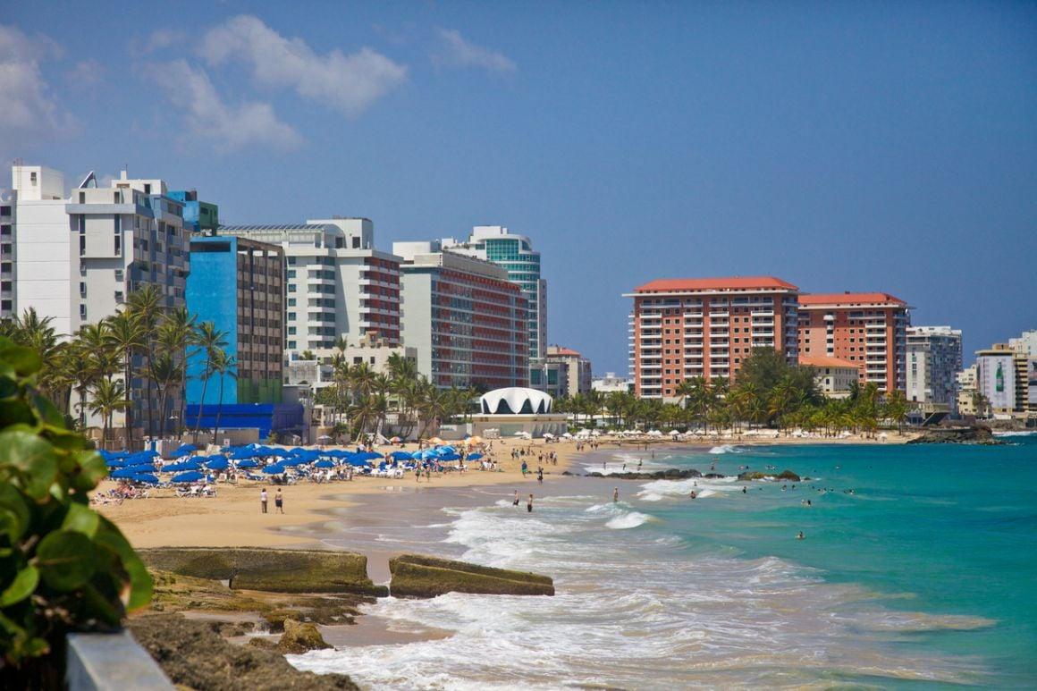 Condado Beach San Juan Puerto Rico