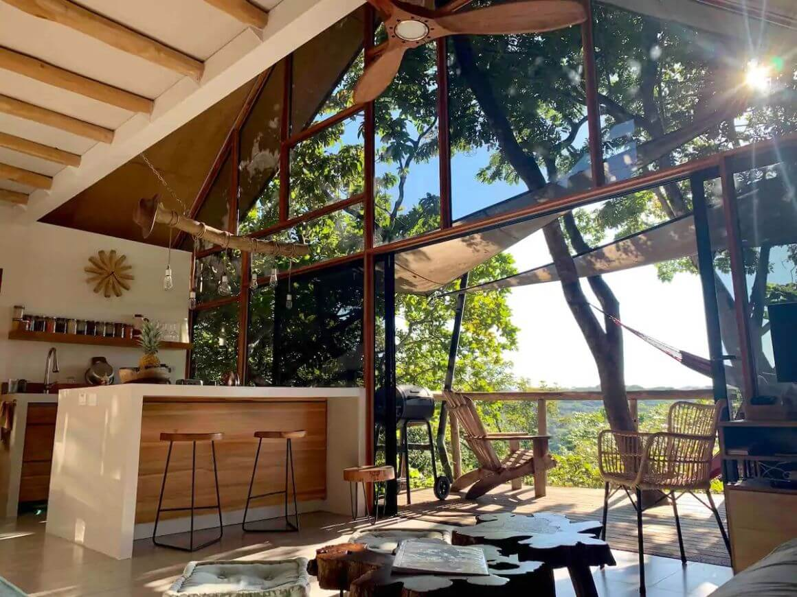 Contemporary 1 Bed Treehouse with Panoramic Views Costa Rica