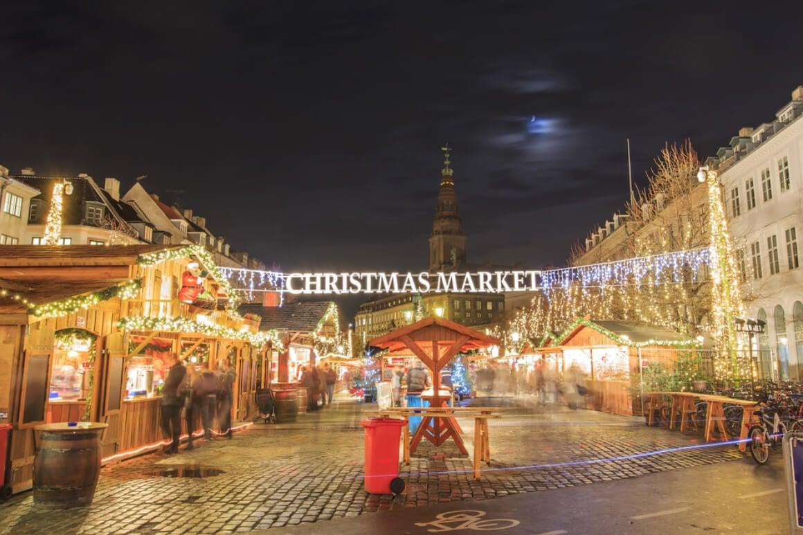Copenhagen, Denmark Christmas Market