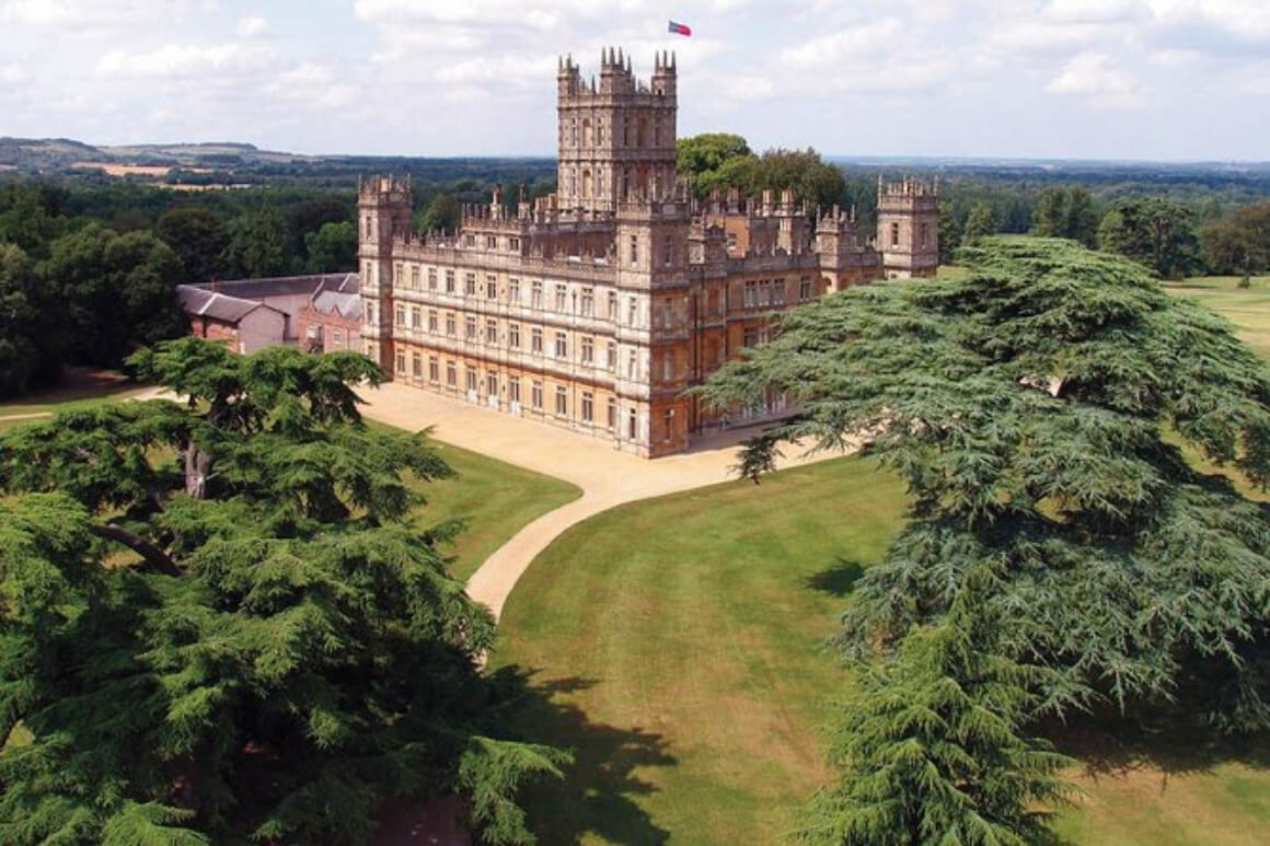 Downton Abbey and Village Tour