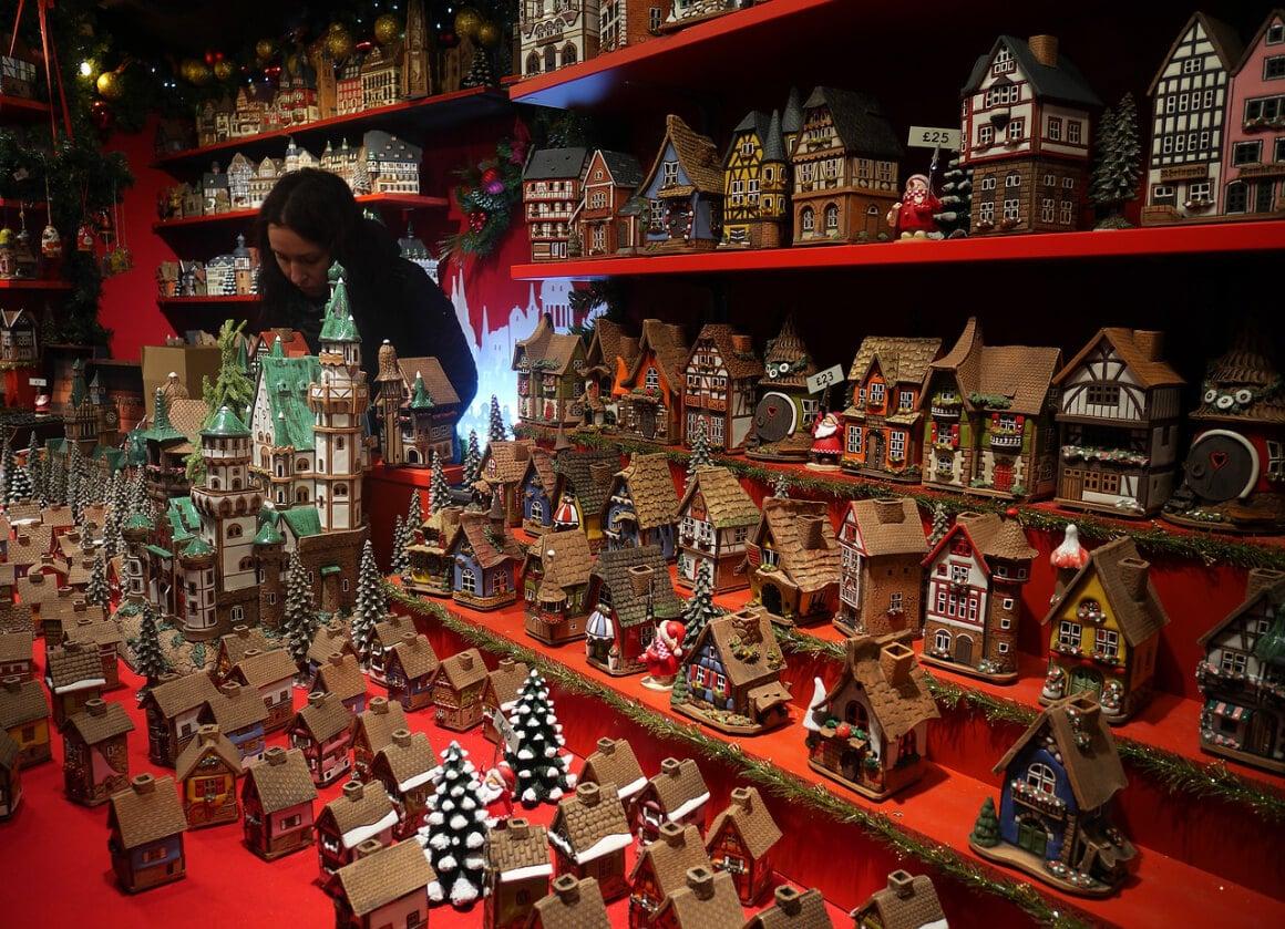 Edinburgh, Scotland Christmas Market