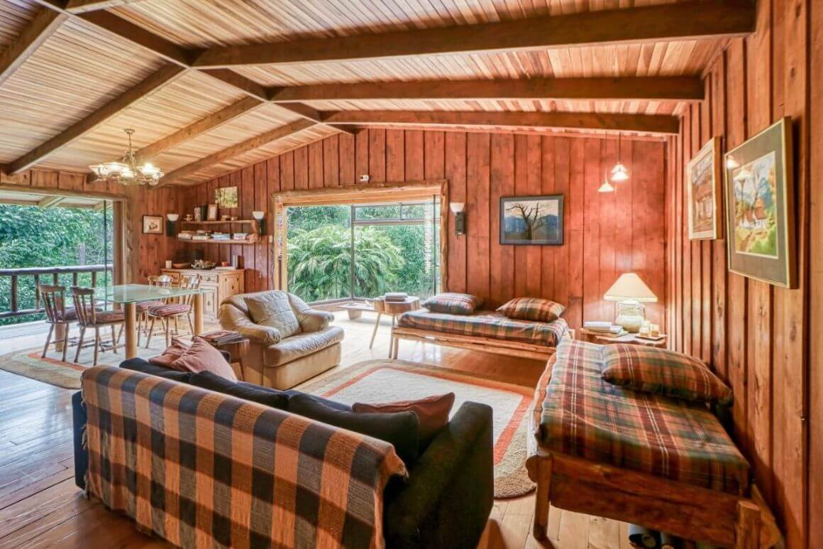 European Style 3 Bed Cabin in Forest Costa Rica