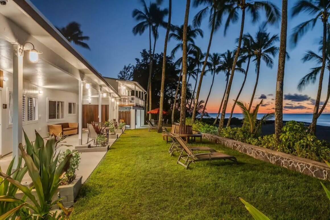 Gorgeous Beachfront Bungalow for 4 Oahu
