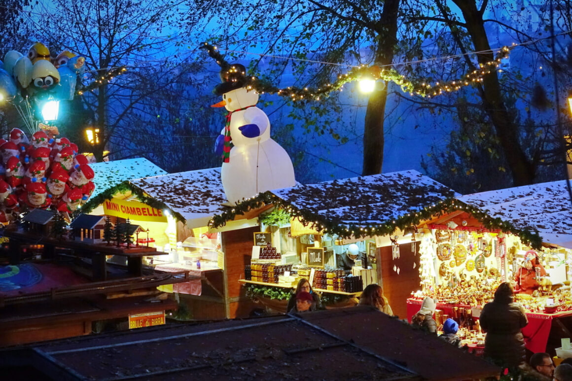 Govone, Italy Christmas Market