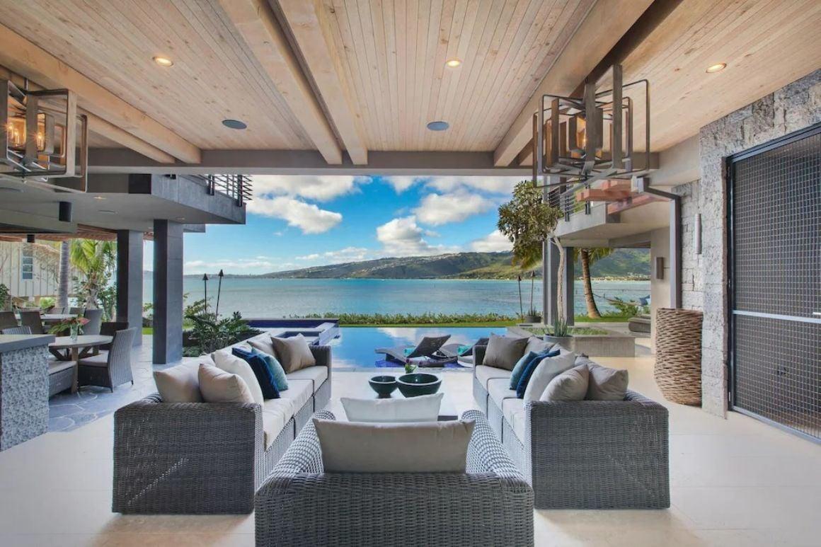 Grand 6 Bed Beach Villa Oahu