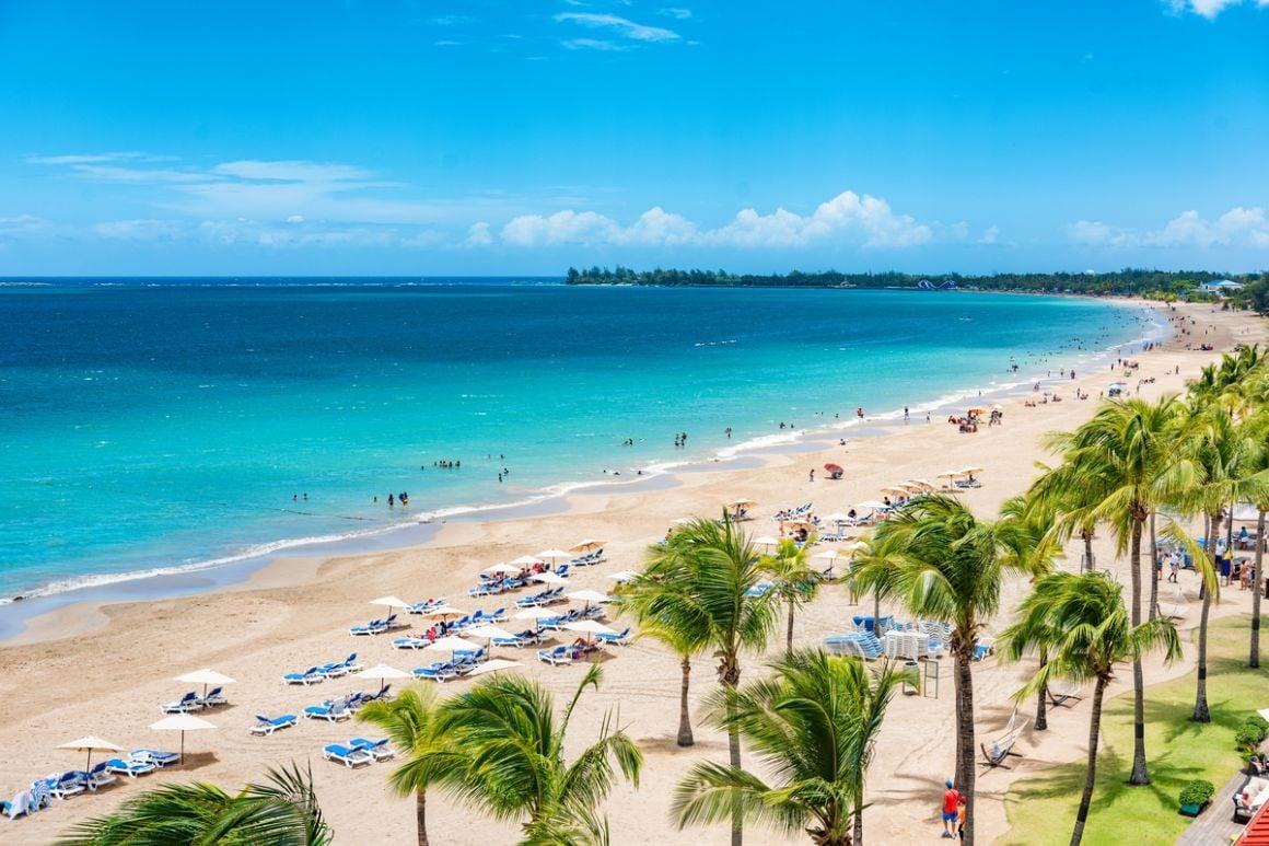 Isla Verde Beach San Juan