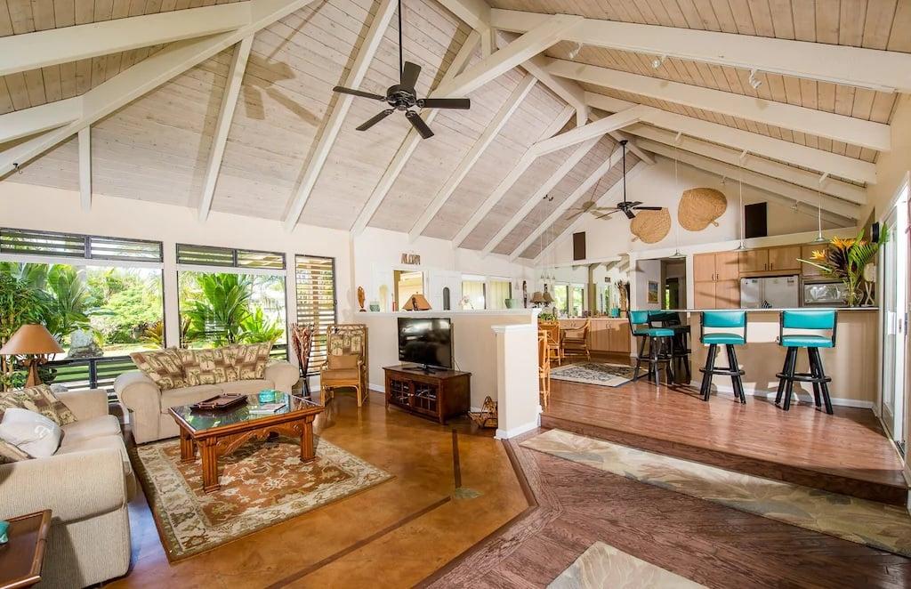 Luxurious Tropical 3 Bed Oasis Kauai