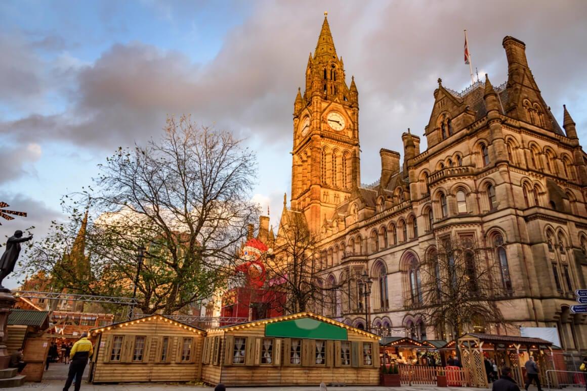 Manchester, UK Christmas Market