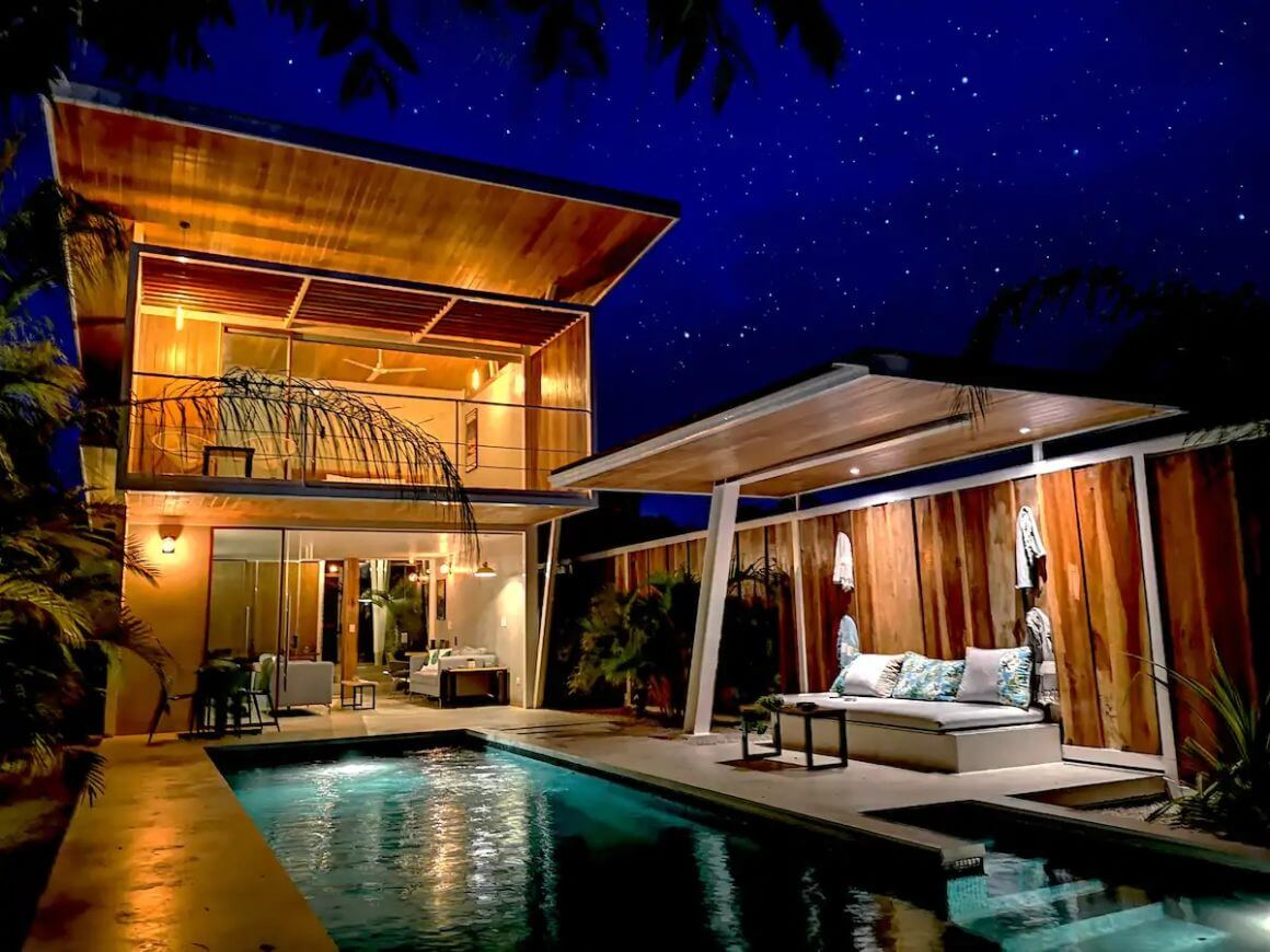 Modern 2 Bed Villa with Magical Views Costa Rica