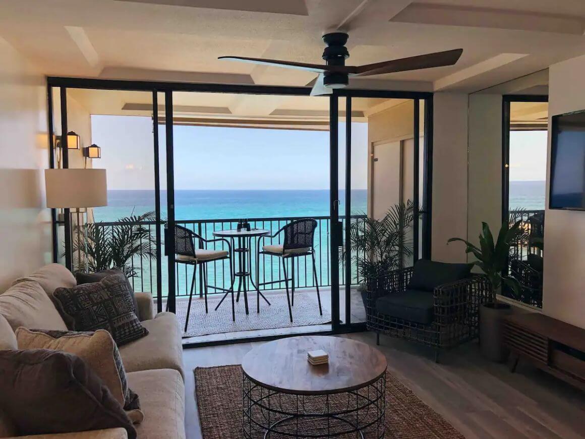 Modern Condo with 180-Degree Ocean Views Oahu