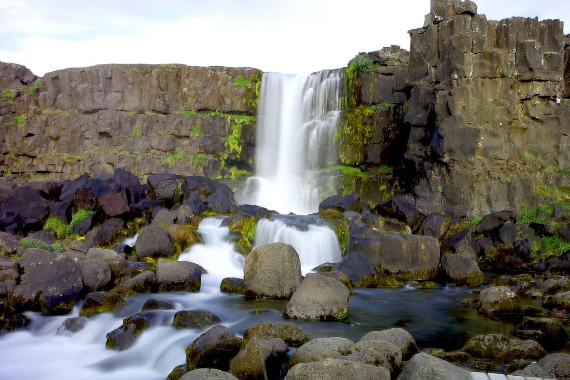 Öxarárfoss Iceland