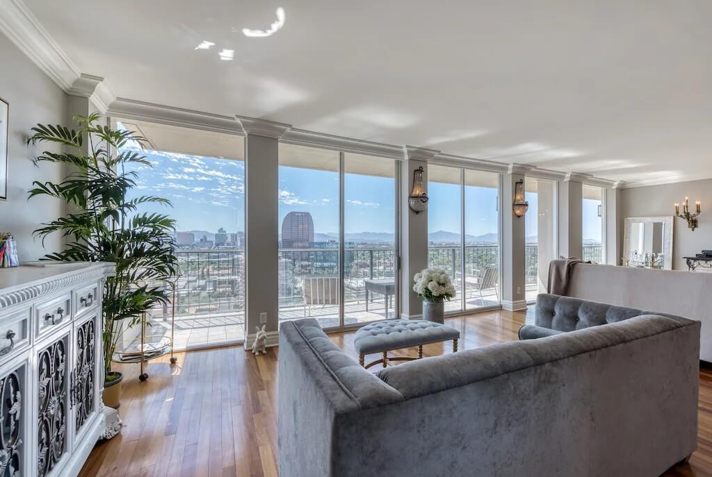 Penthouse Condo with 5 Views Phoenix