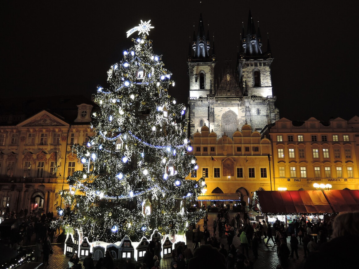 Prague, CR Christmas Market