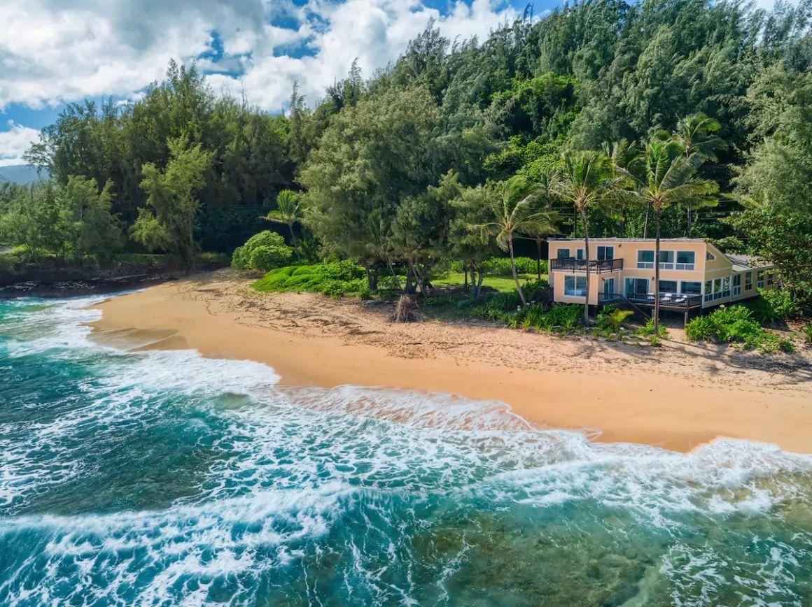 Secluded 5 Bed Beach House Kauai
