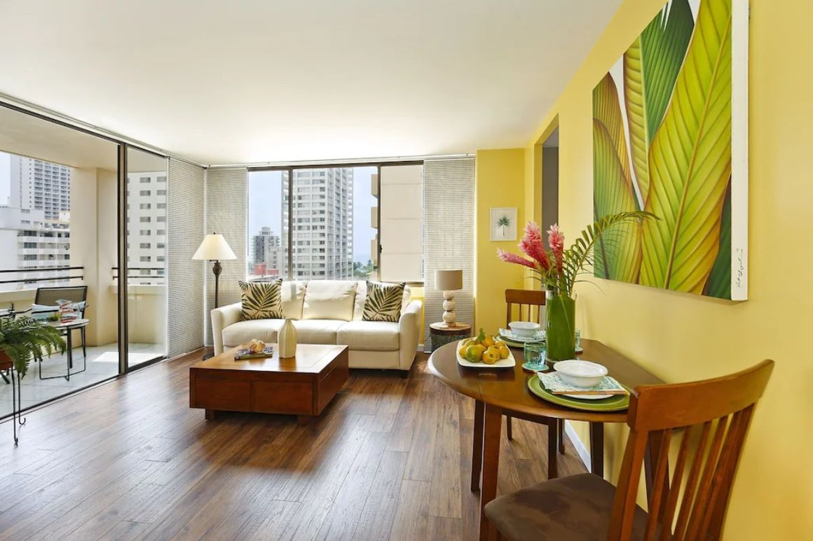 Sunny and Central 1 Bed Condo