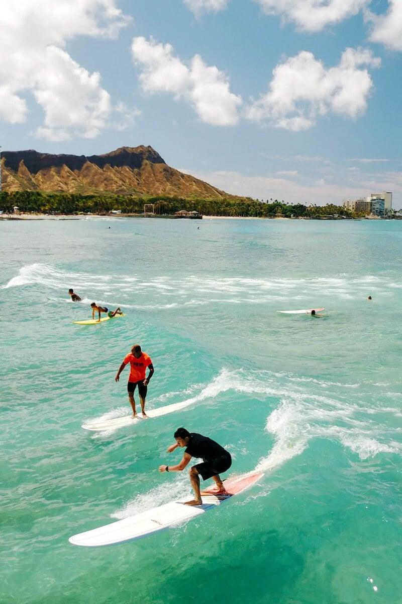 Surfing Lesson & Coffee in Waikiki