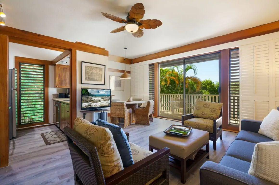 Trendy 1 Bed in the Heart of Poipu Kauai