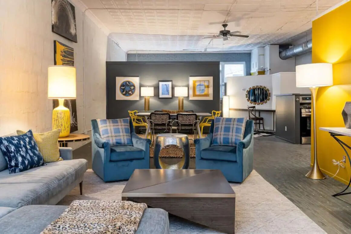 Trendy and Spacious 2 Bed Condo
