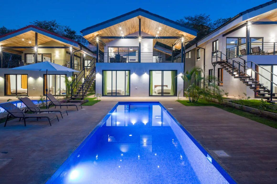 Tropical and Bright 3 Bed Villa with Pool Costa Rica