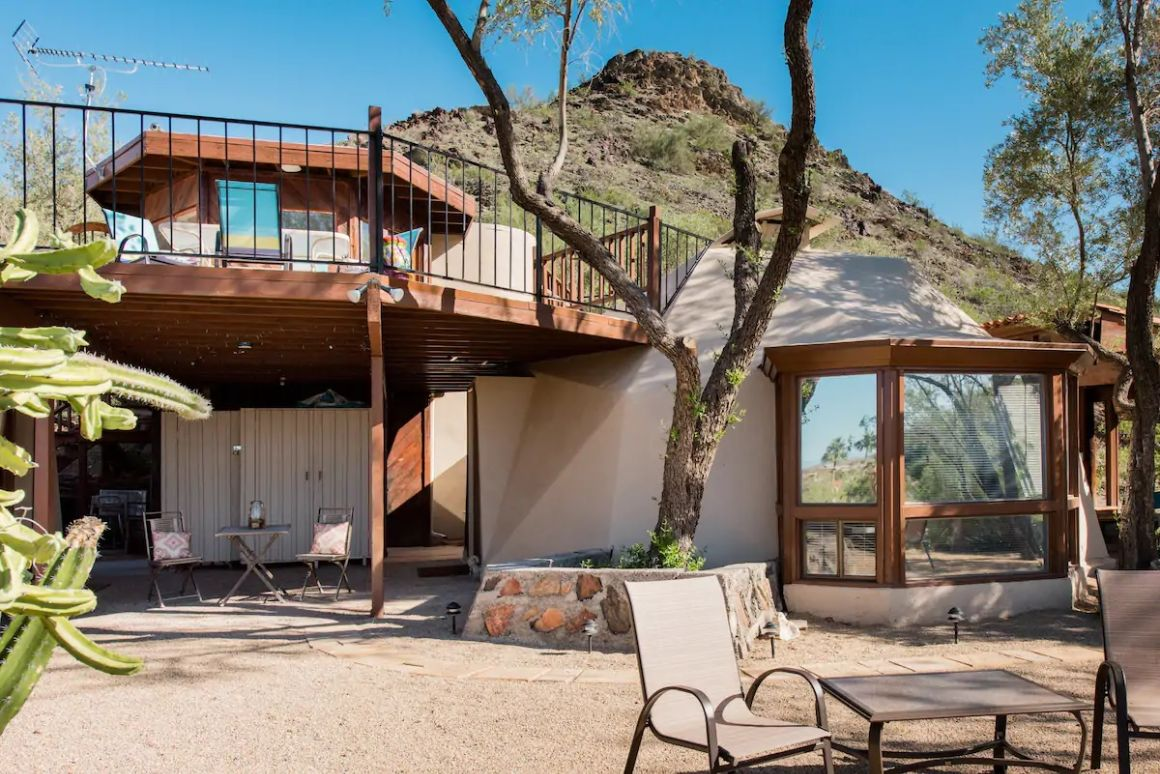 Unique Dome Home with Panoramic Desert Views Phoenix
